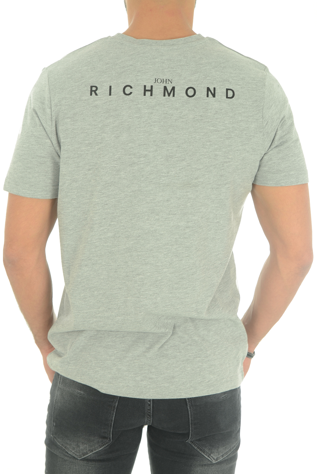 Tee-shirts  John richmond MATRINCA W0066 GRIGIO MEL