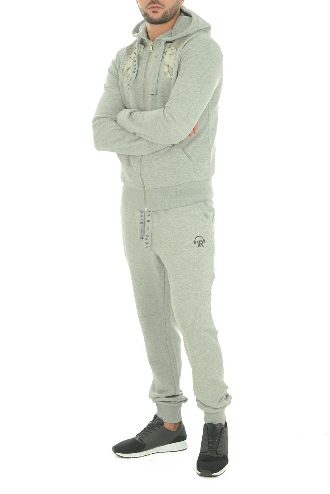 Pantalons sport/streetwear  John richmond SAPUCACIA W0066 GRIGIO MEL
