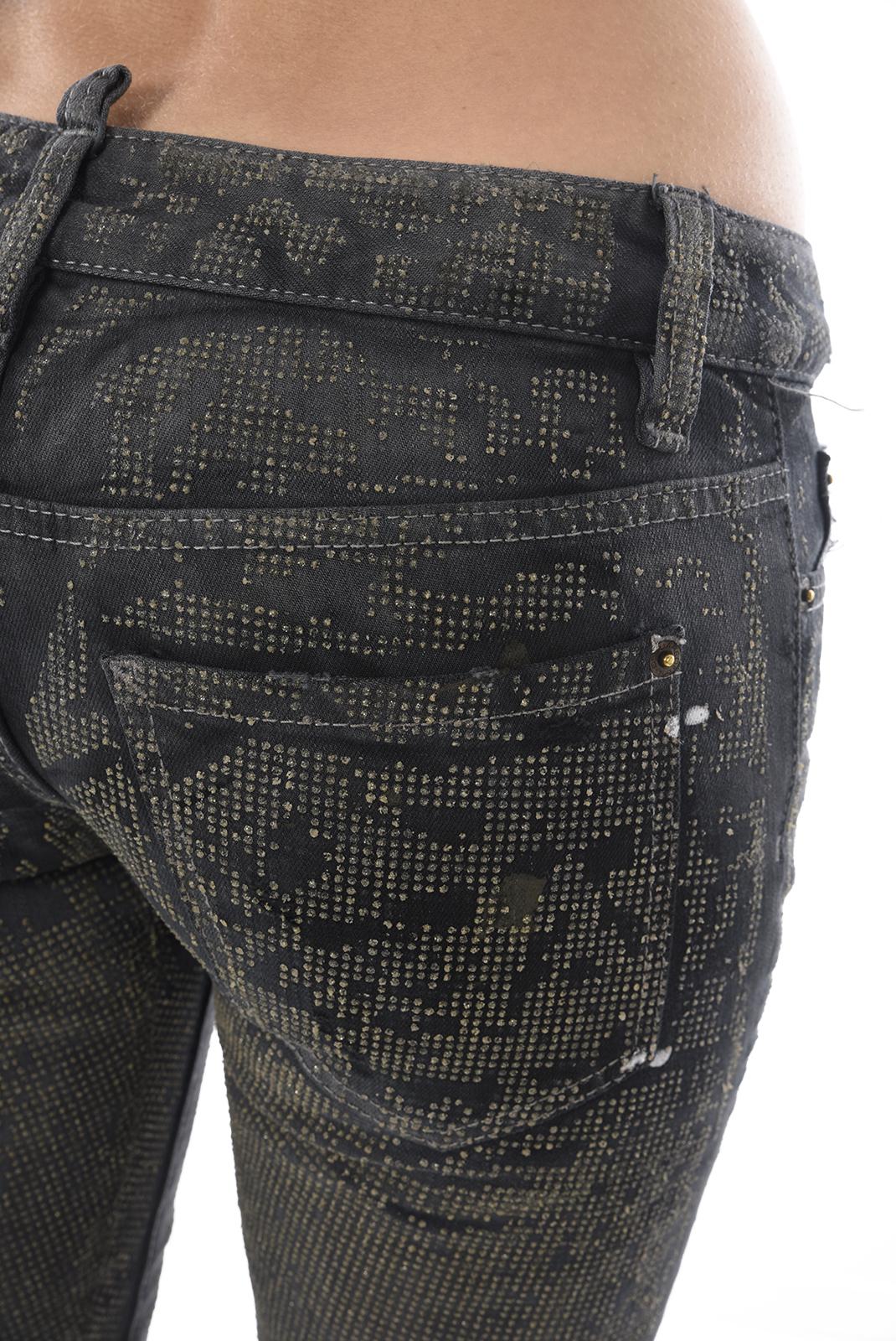 Jeans slim  Dsquared2 S72LA0278 093 GRIS