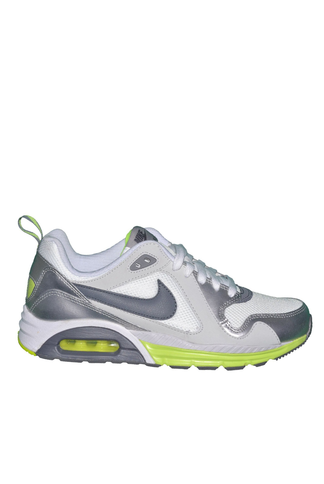 Chaussures  Nike WMNS AIR MAX TRAX 631763 100 BLANC ARGENT METAL