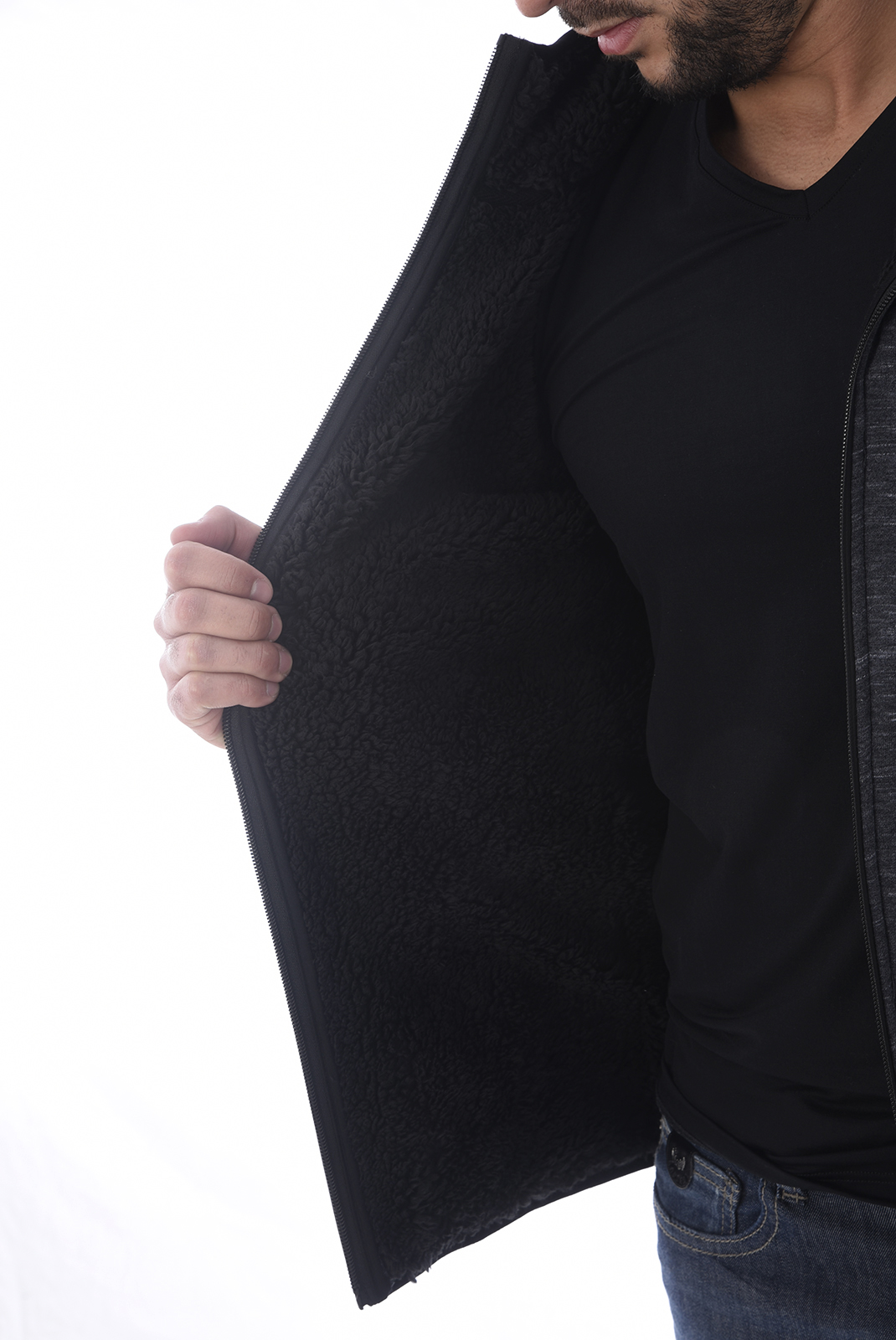 Vestes zippées  Kaporal VICO DK GREY MELANGED