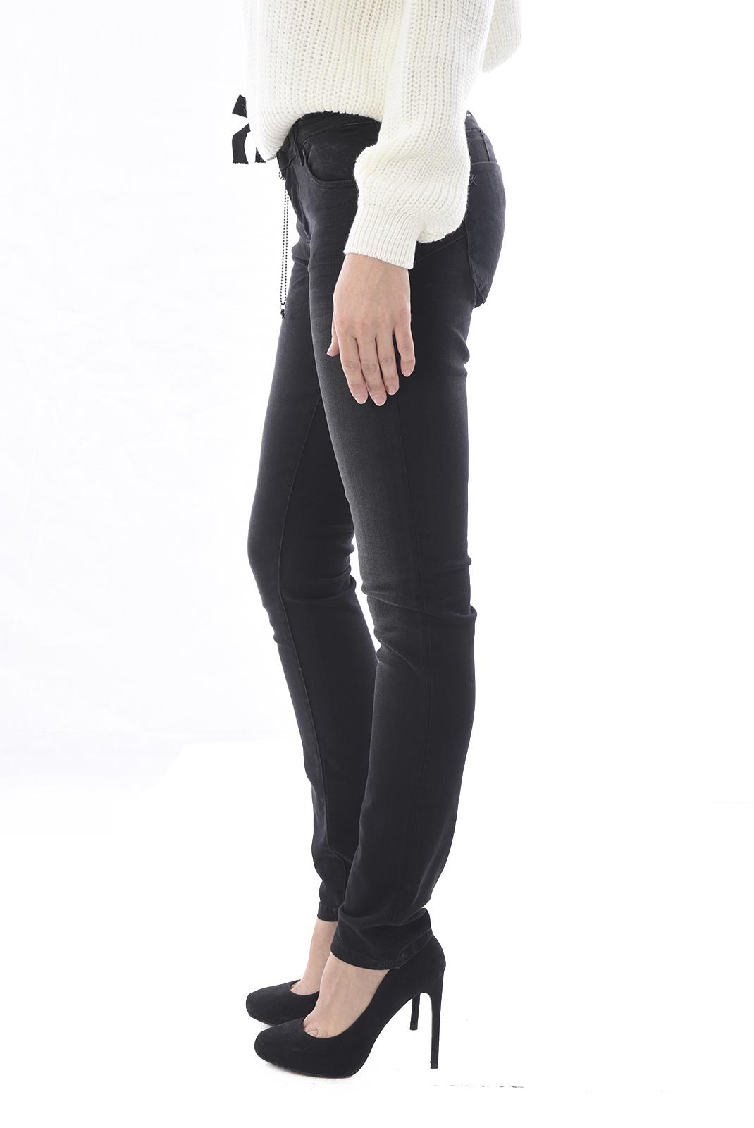 Jeans   Kaporal LOKA OLD BLACK