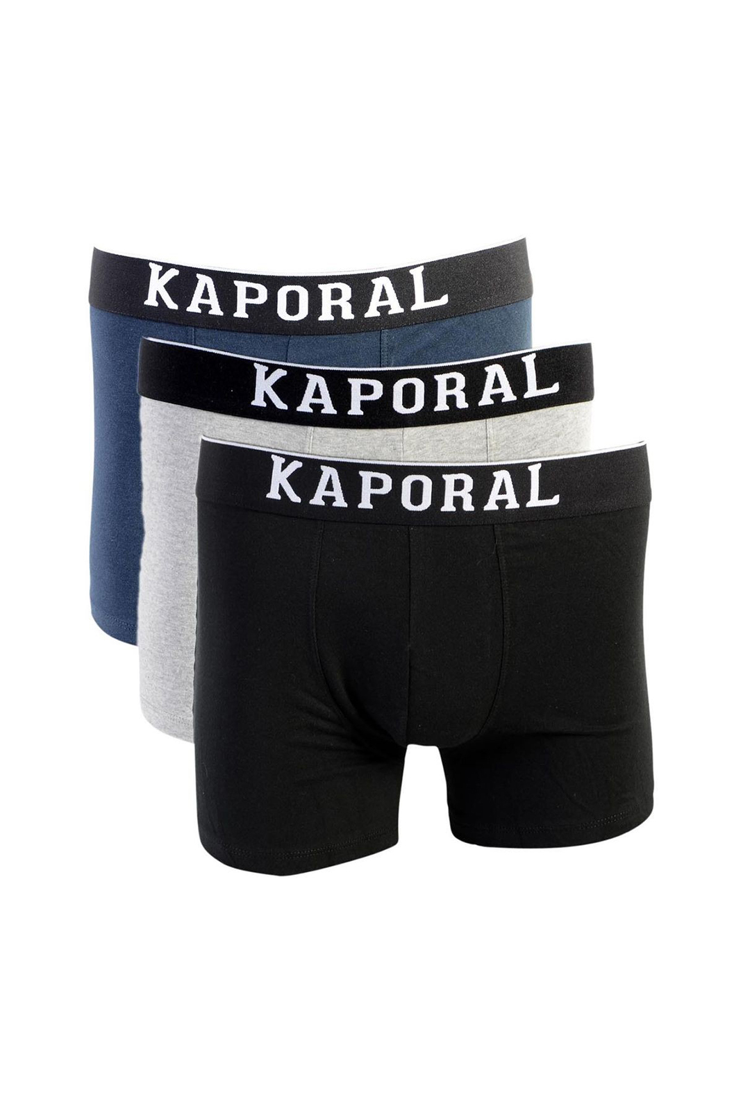 Slips-Caleçons  Kaporal QUAD BLACK/GREY/NAVY