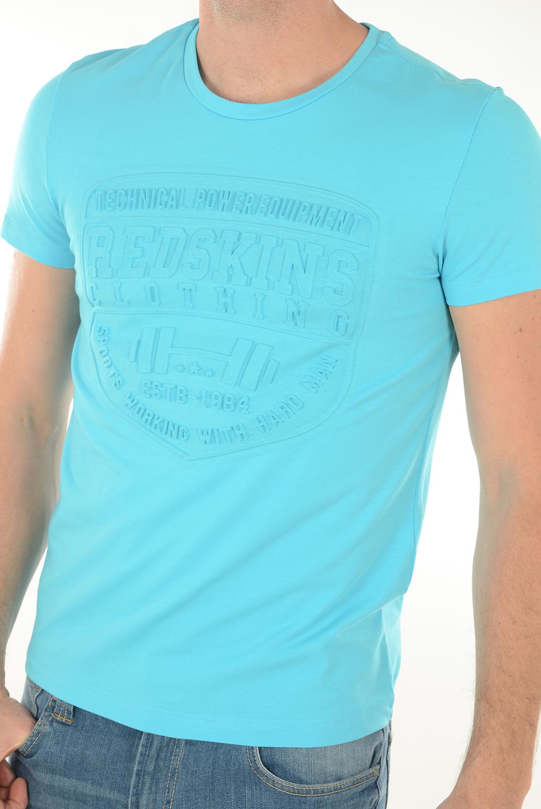 Tee-shirts  Redskins HERACLES CALDER H16 ATOLL BLUE