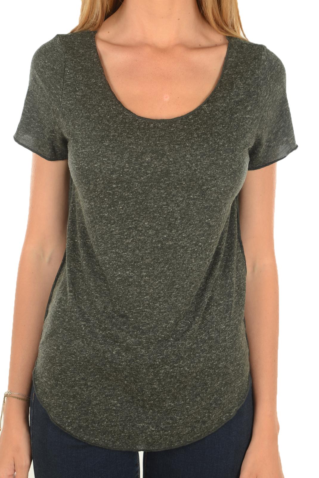 Tee shirt  Vero moda LUA SS TOP NOOS BLACK