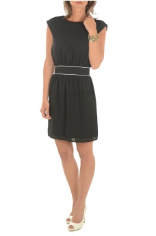 ONLY: JENNI BACK TWIST S/L DRESS