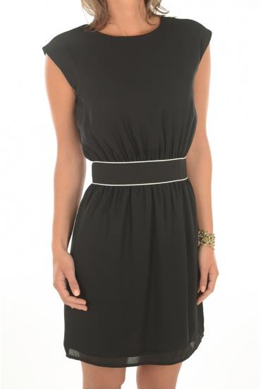 MARQUES ONLY: JENNI BACK TWIST S/L DRESS