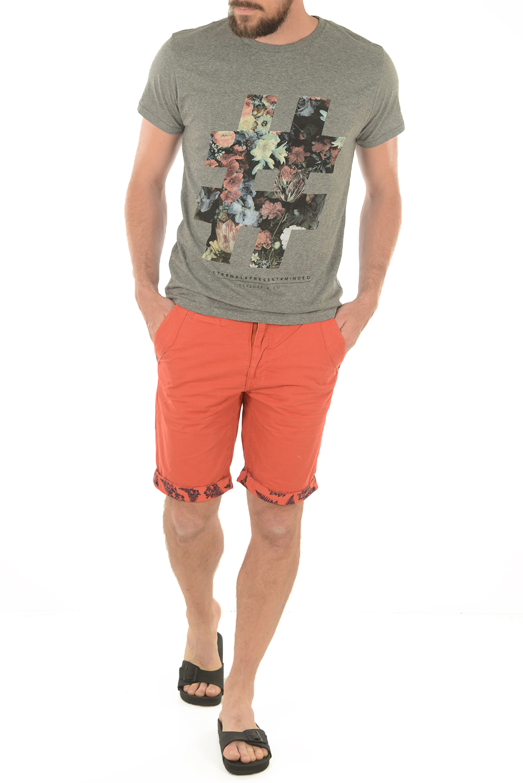 Tee-shirts manches courtes  Deeluxe DIEZE GRIS