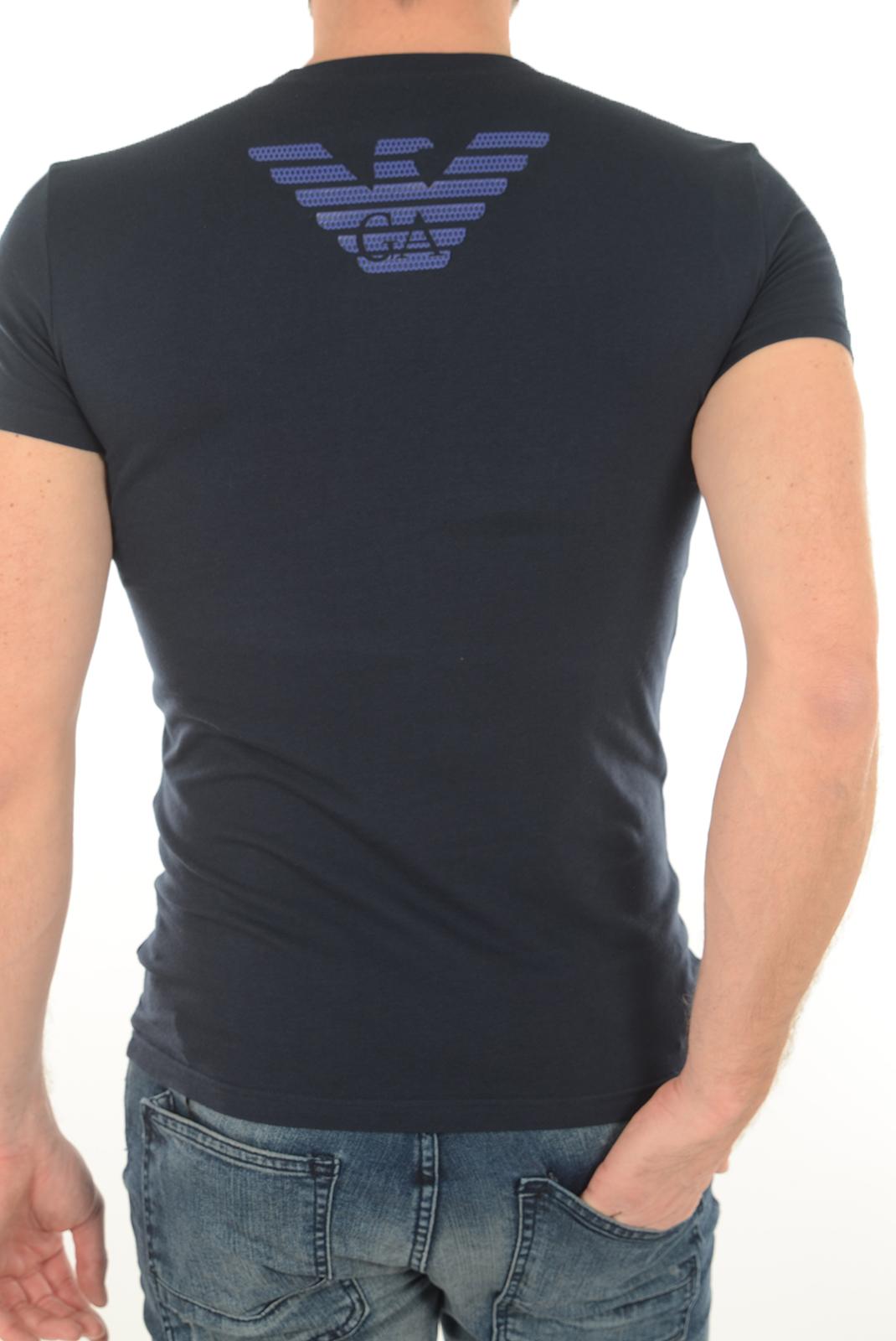 Tee-shirts manches courtes  Emporio armani 111035 6A745 0135 BLEU