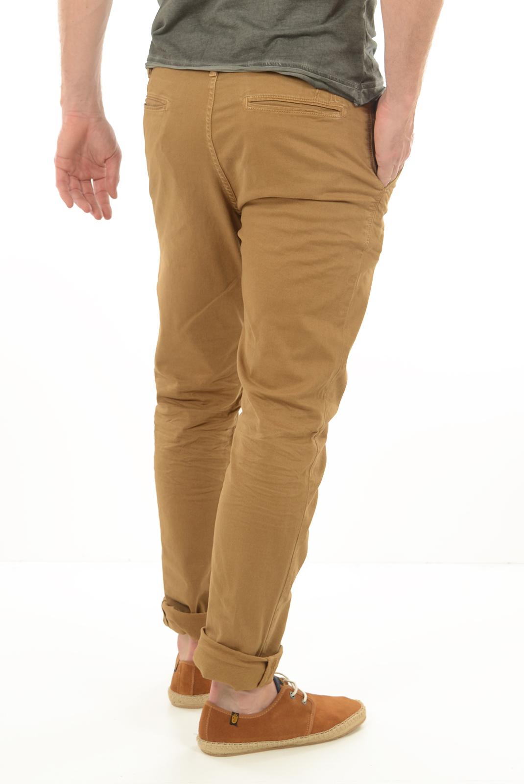 Pantalons chino/citadin  Lee cooper GARVEN 7634 CAMEL