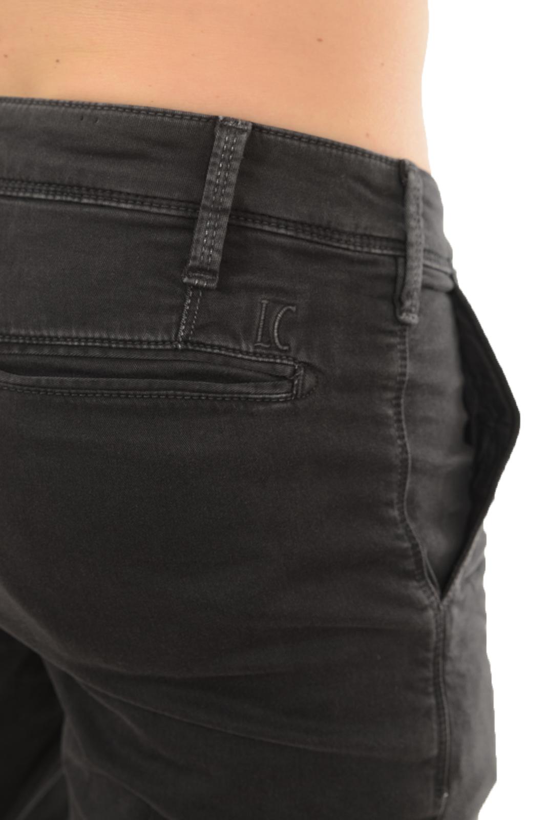 Pantalons chino/citadin  Lee cooper GARVEN 7634 ACIER