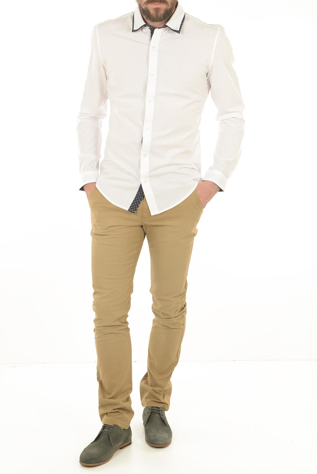 Pantalons chino/citadin  Lee cooper NATHAN 5133 LIGHT CAMEL