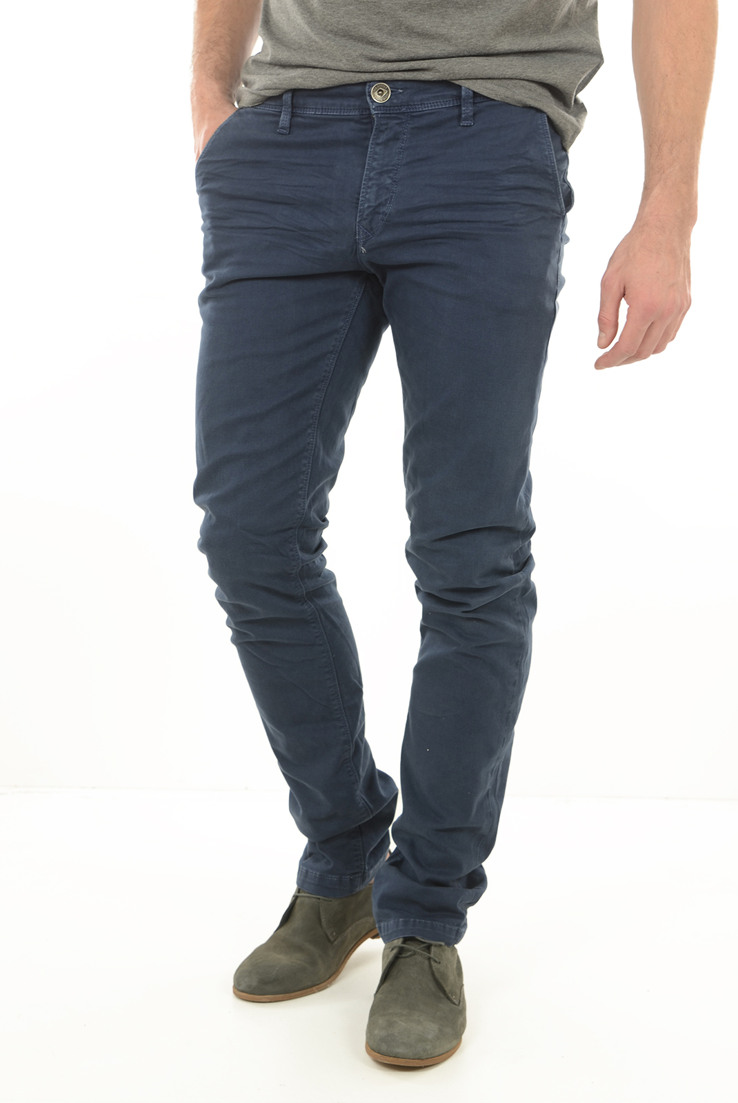 Pantalons chino/citadin  Lee cooper GARVEN 7634 NAVY