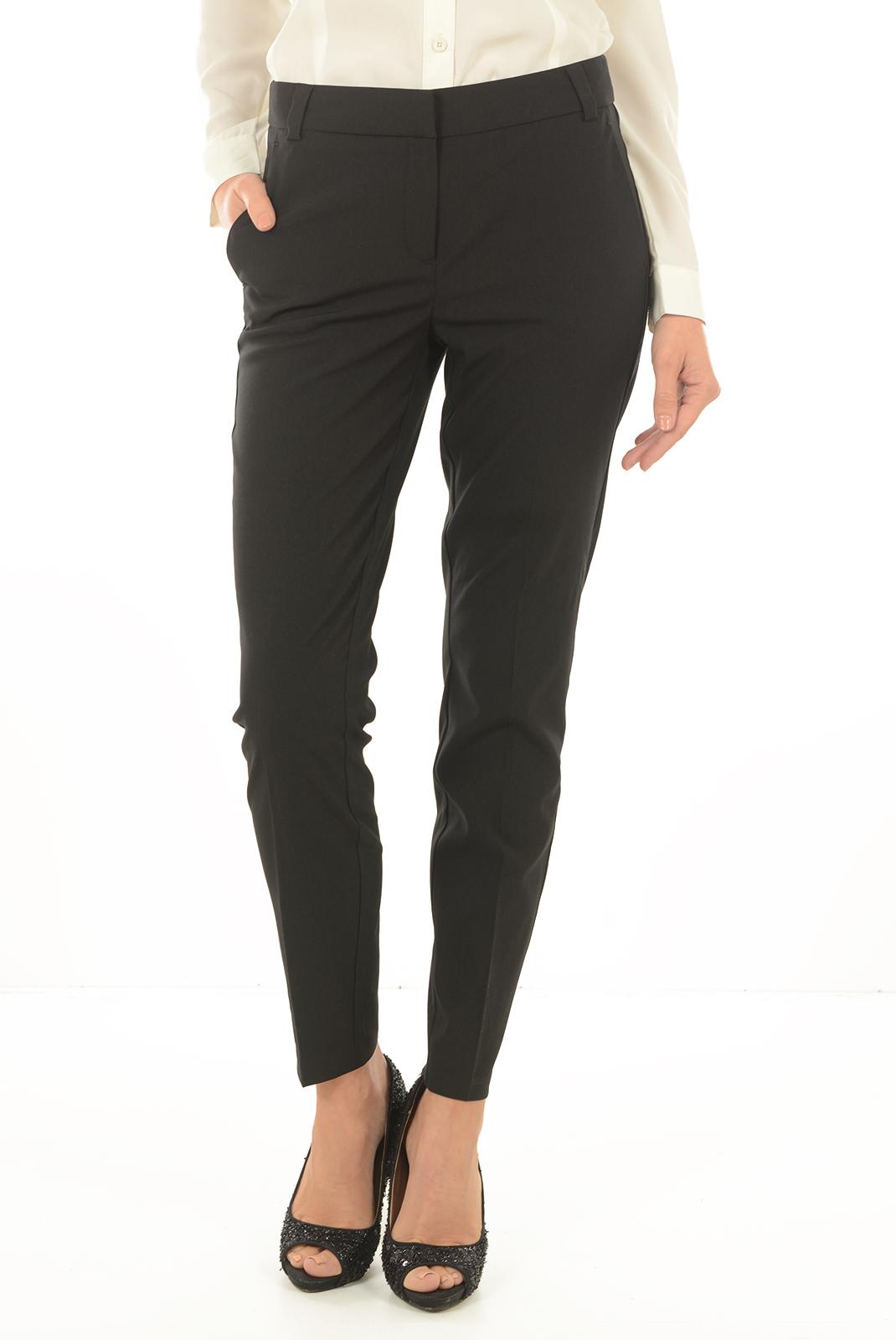 Pantalons  Vero moda RORO NW ANCLE PANTS NOOS BLACK
