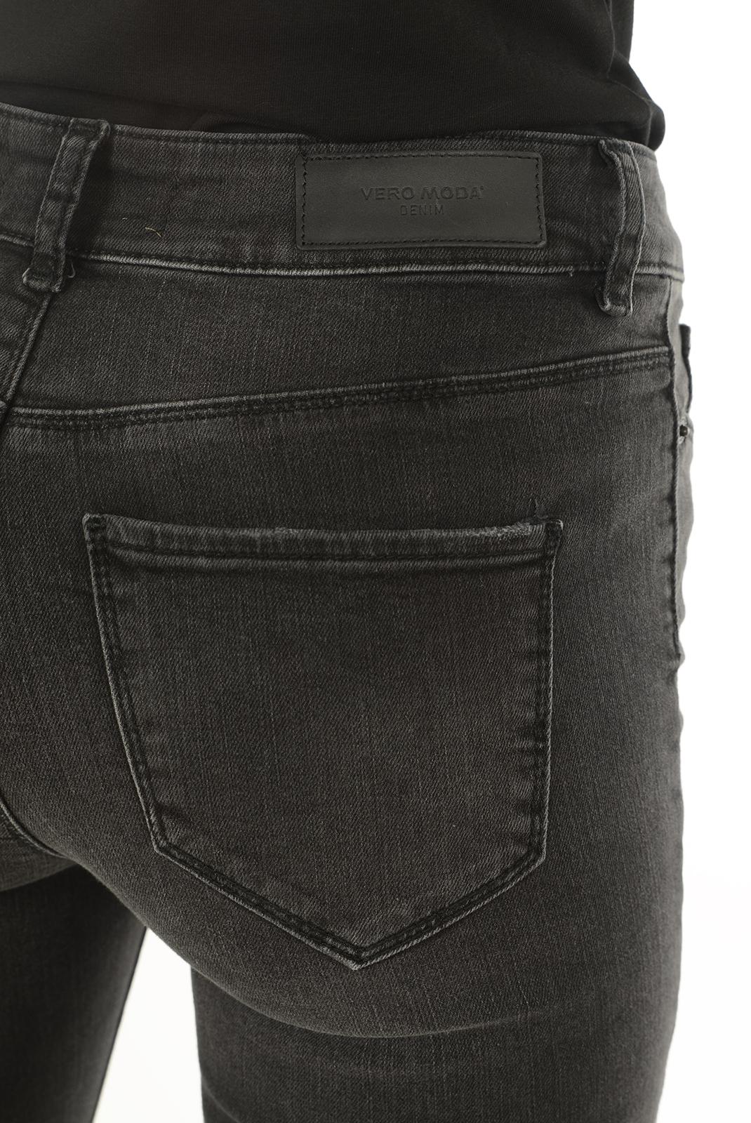 Jeans slim  Vero moda SEVEN NW SUPER SLIM BA022 NOOS BLACK
