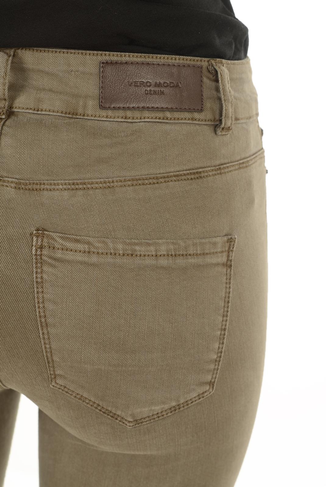 Jeans slim  Vero moda SEVEN NW ZIP ANKLE COLOR NOOS FALCON