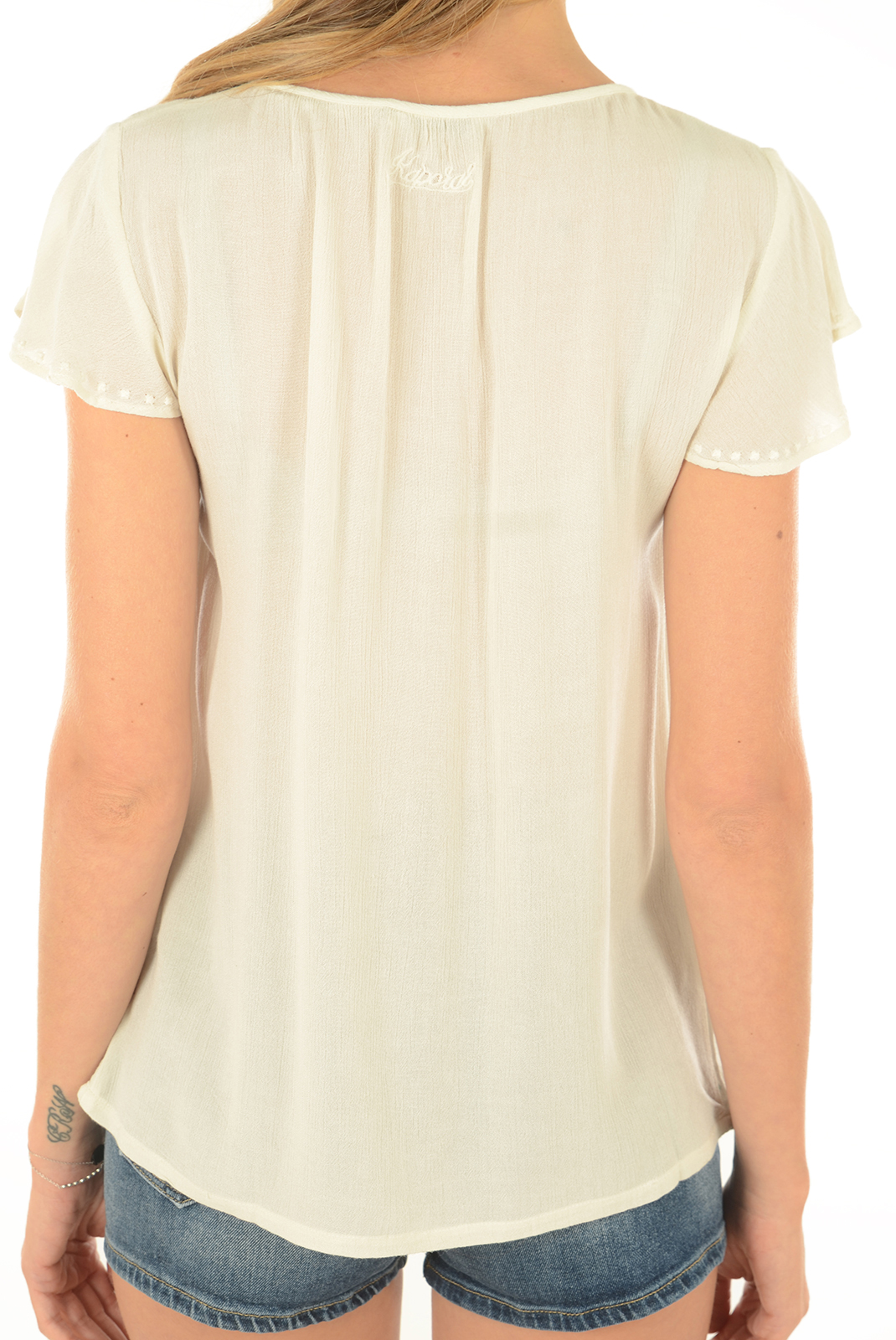 Tee shirt  Kaporal FAHU OFF WHITE