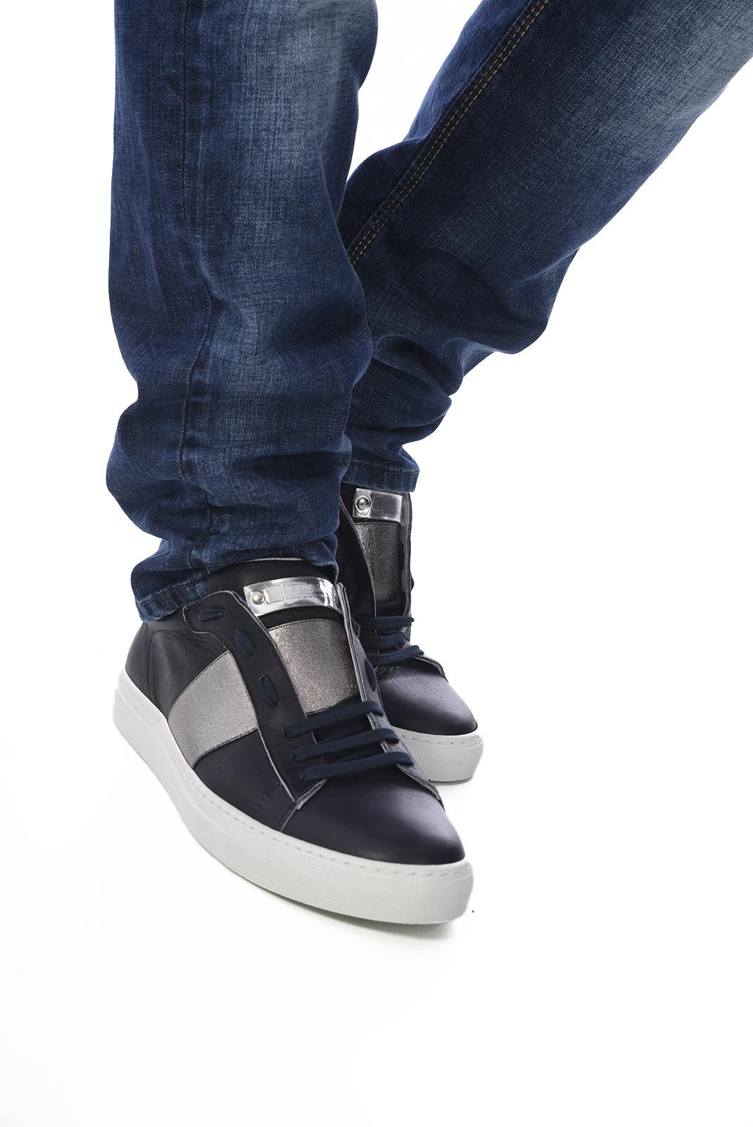 Chaussures   Redskins NIFOSI MARINE ARGENT