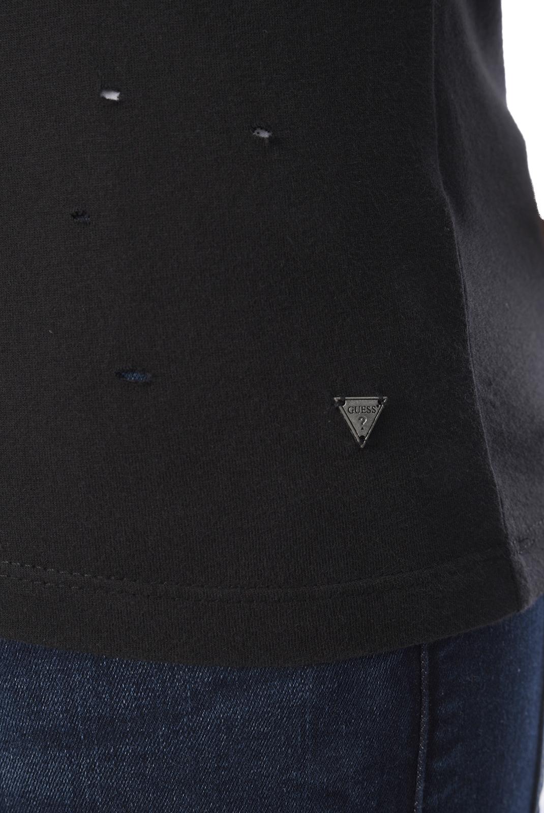 T-S manches courtes  Guess jeans M73P43 I3Z00 A996 NOIR