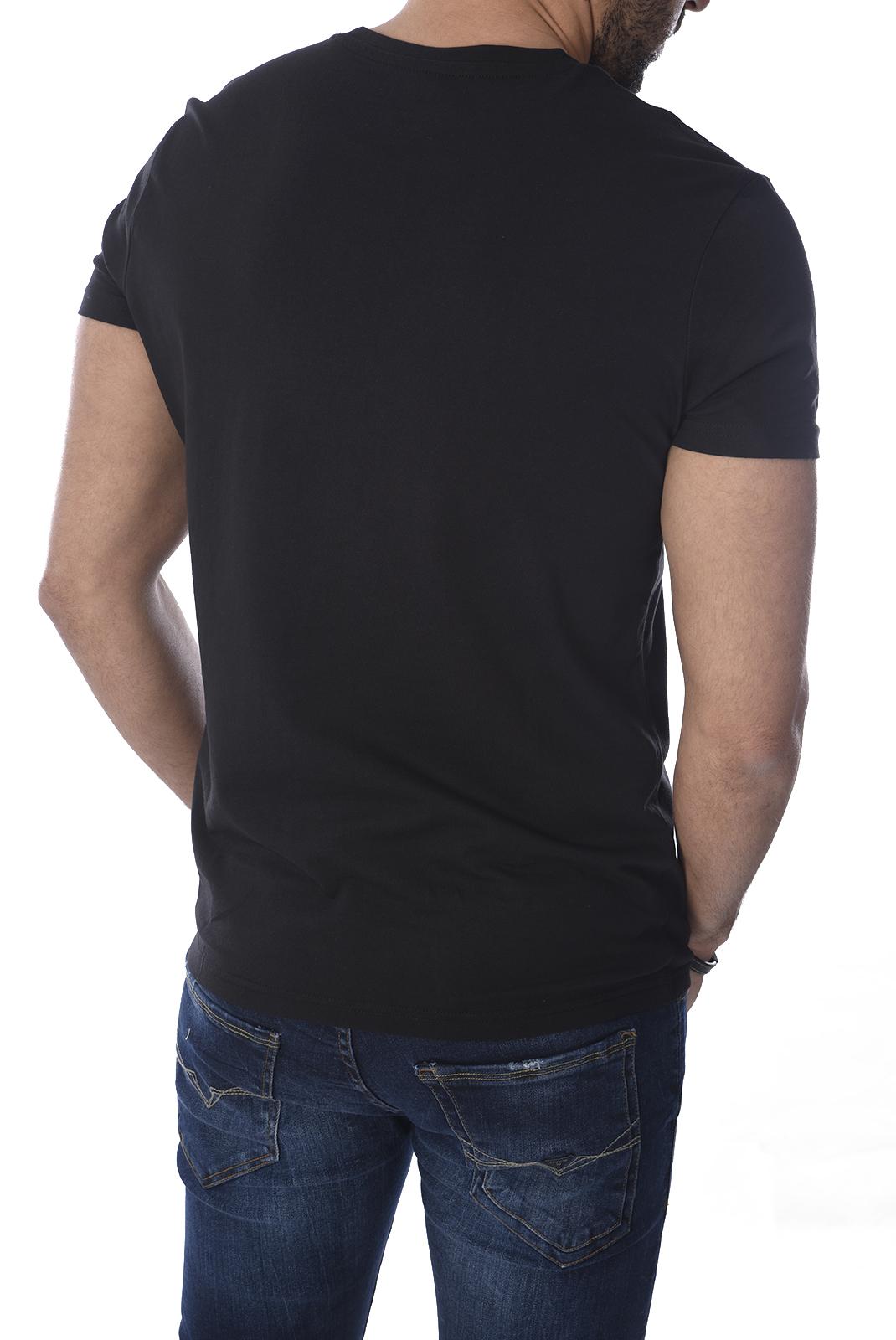 T-S manches courtes  Kaporal GIFT WHITE/BLACK
