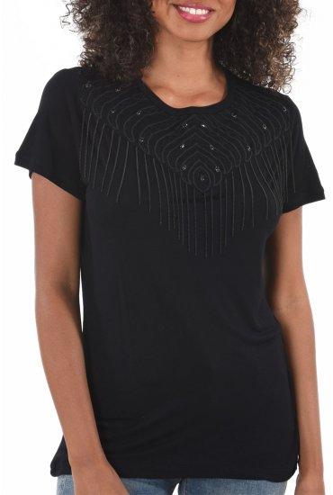 Shirt Femme Kaporal Black Boris Tee fXz6qZ