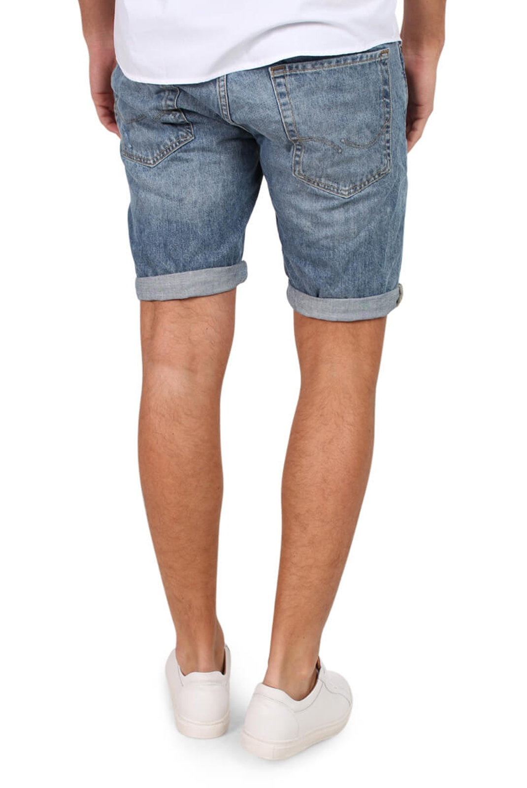 Shorts & Bermudas  Jack & Jones RICK ORIGINAL SHORTS AM 105 BLUE DENIM