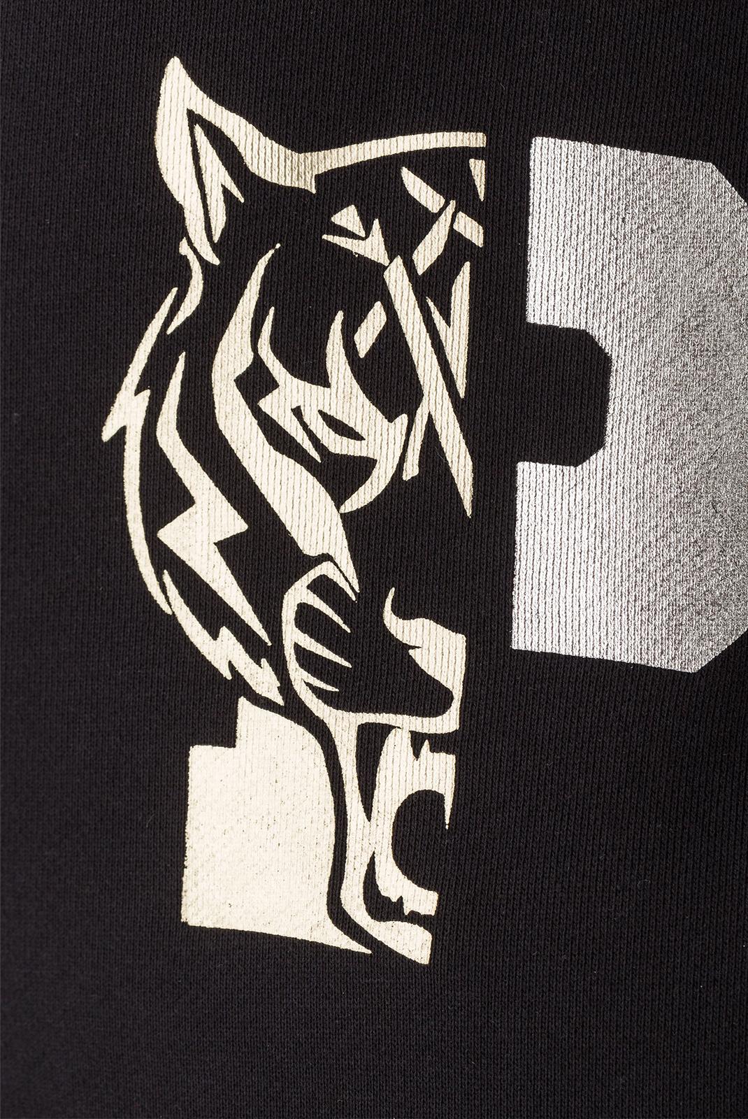 Vestes zippées  Plein Sport F17C MJB0089 02L BLACK/LIGHT GOLD
