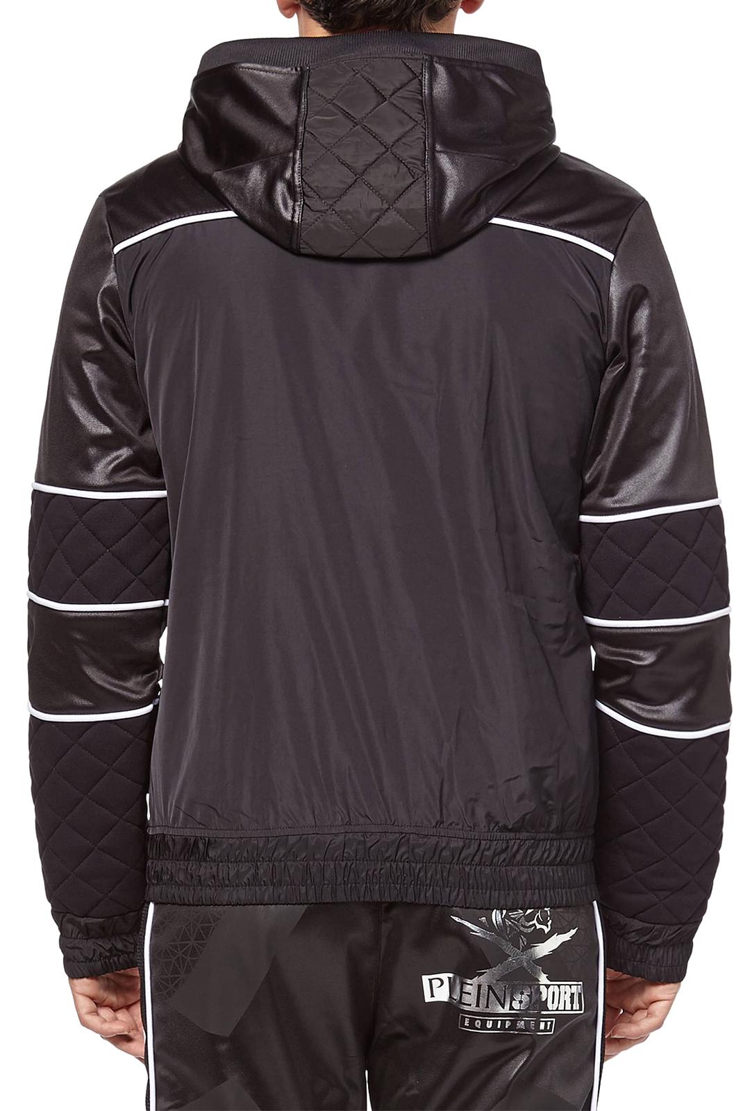 Vestes zippées  Plein Sport F17C MJB0092 02L BLACK GOLD