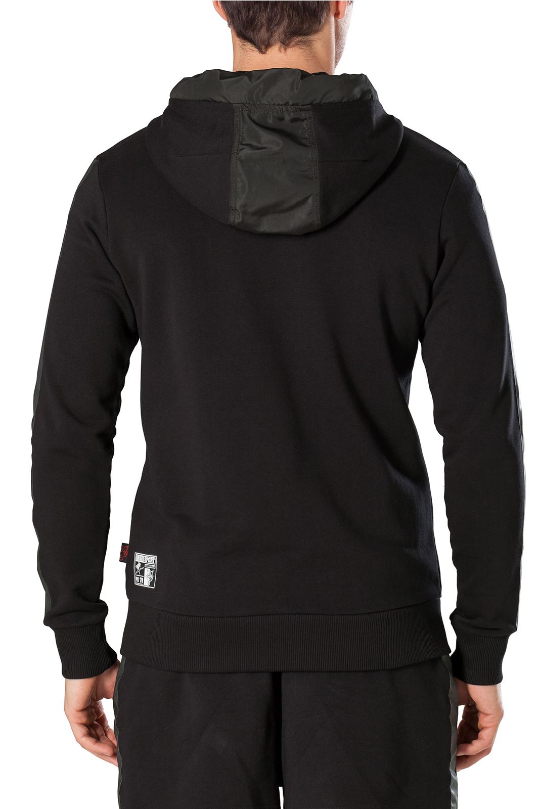 Vestes zippées  Plein Sport F17C MJB0143 02 BLACK