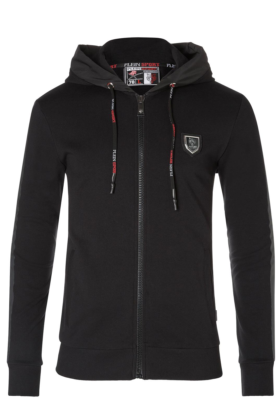 Vestes sport/streetwear  Plein Sport F17C MJB0143 02 BLACK