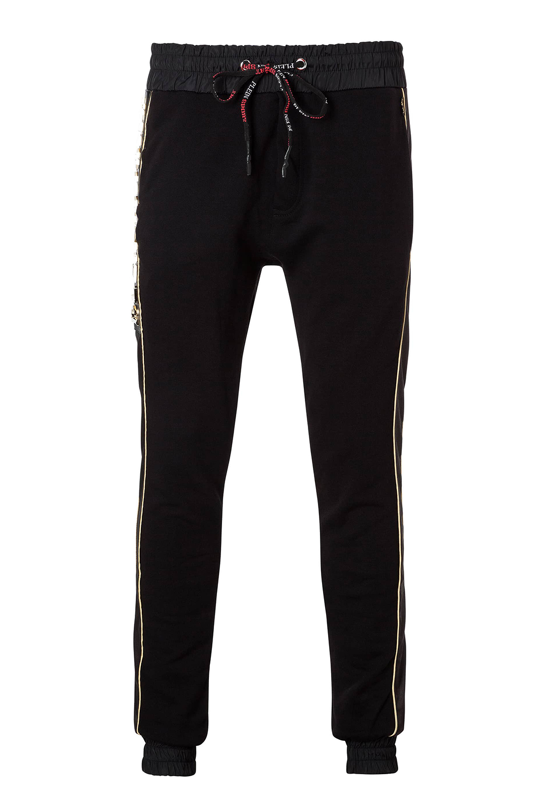 Pantalons sport/streetwear  Plein Sport F17C MJT0144 02L BLACK GOLD