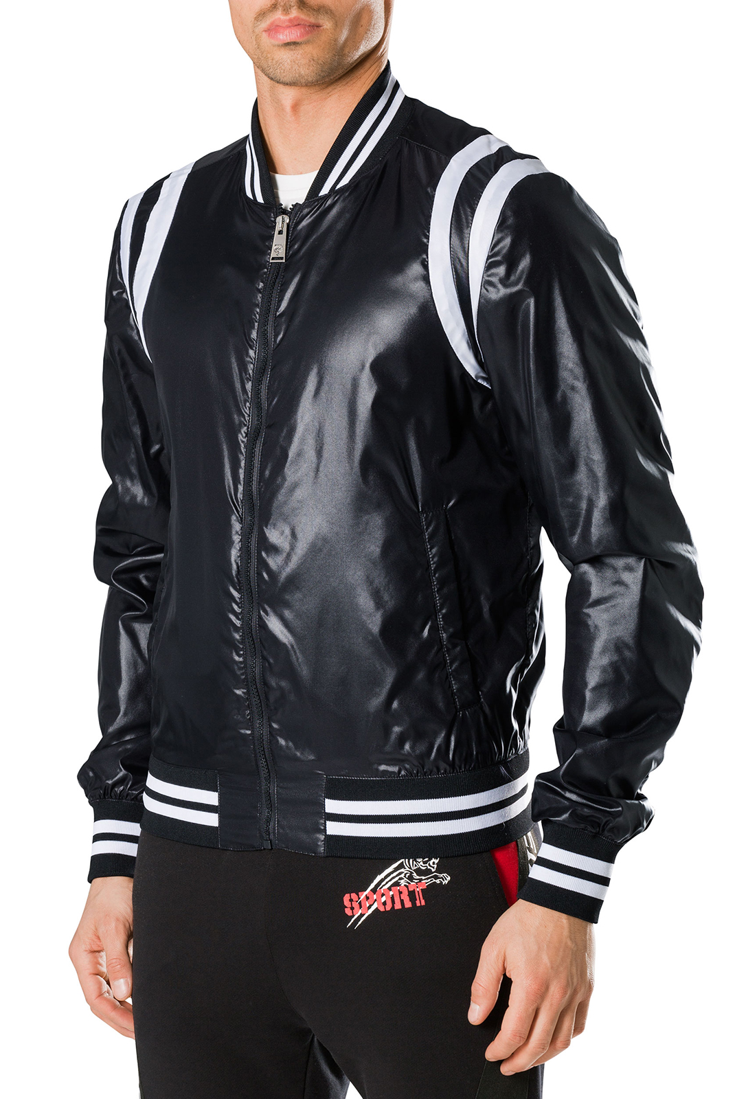 Vestes zippées  Plein Sport F17C MRB0271 02 BLACK