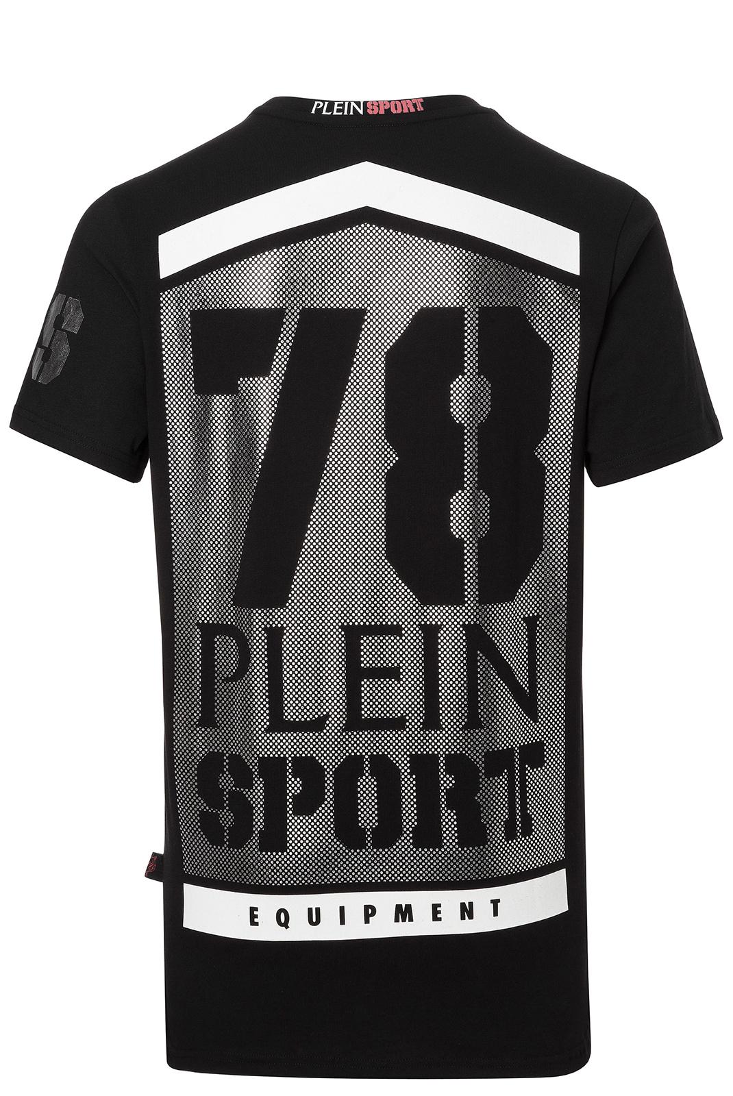 T-S manches courtes  Plein Sport F17C MTK0779 02 BLACK