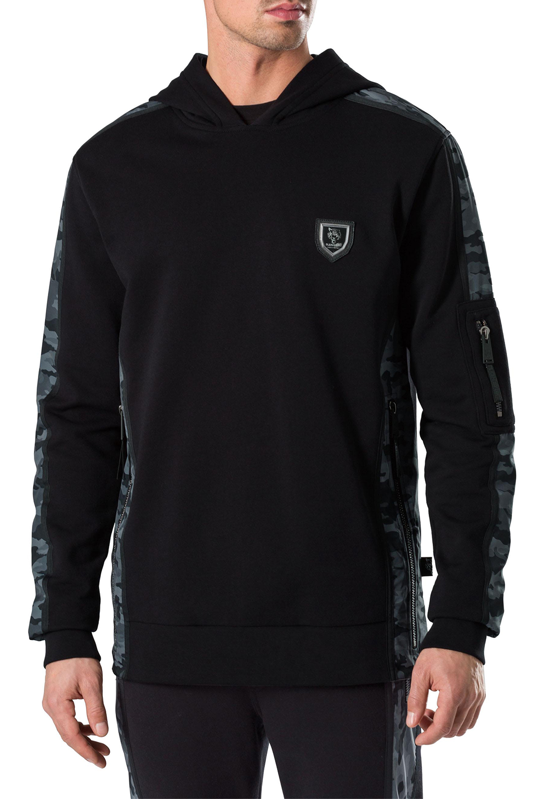 Sweatshirts  Plein Sport P17C MJB0073 0202 BLACK