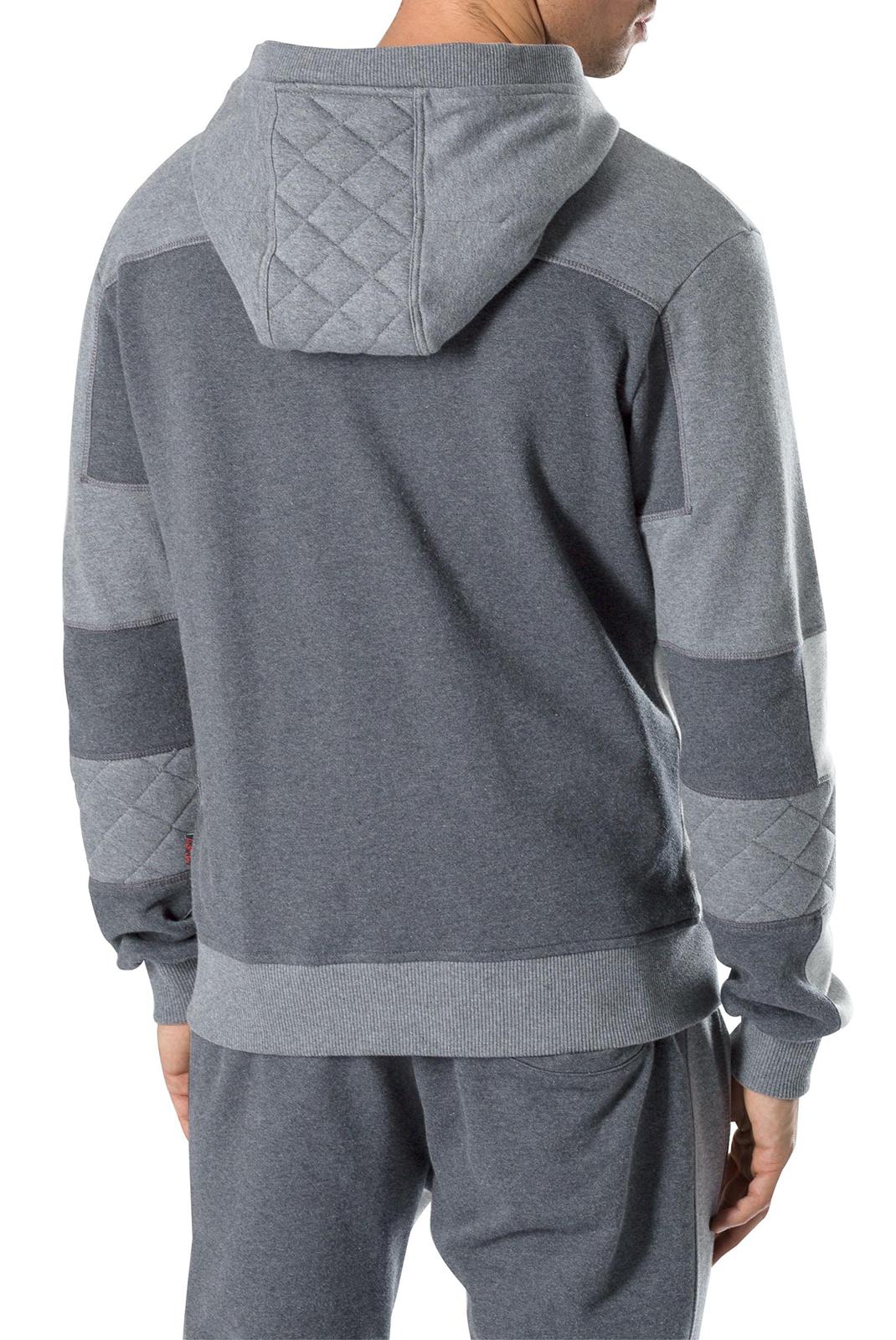 Vestes zippées  Plein Sport P17C MJB0082 1046 GREY MELANGED