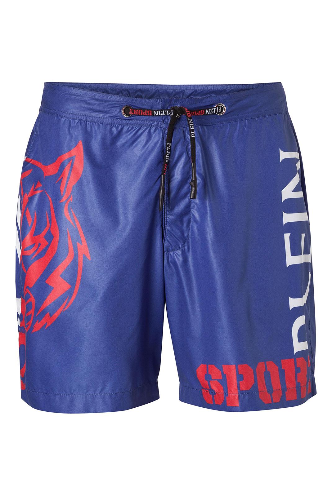 Shorts de bain  Plein Sport P17C MMT0033 B006 BLUE SUPERHERO