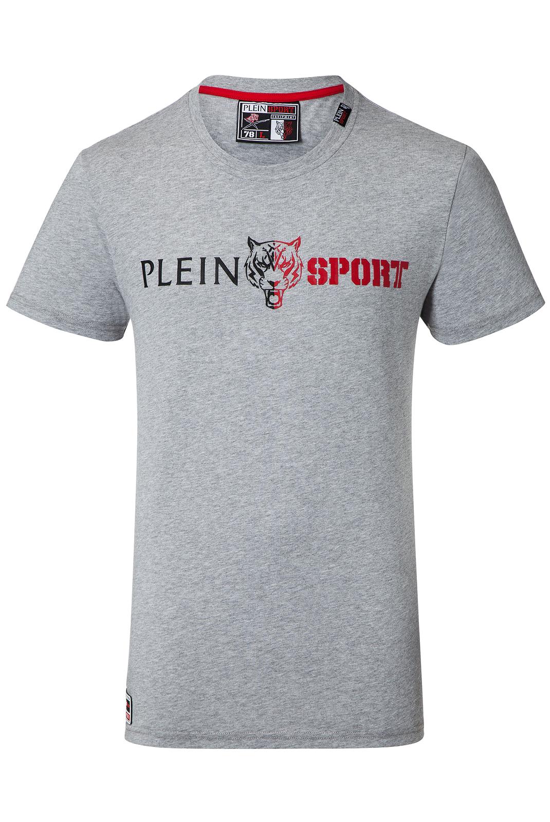 T-S manches courtes  Plein Sport P17C MTK0640 1046 GREY MELANGED