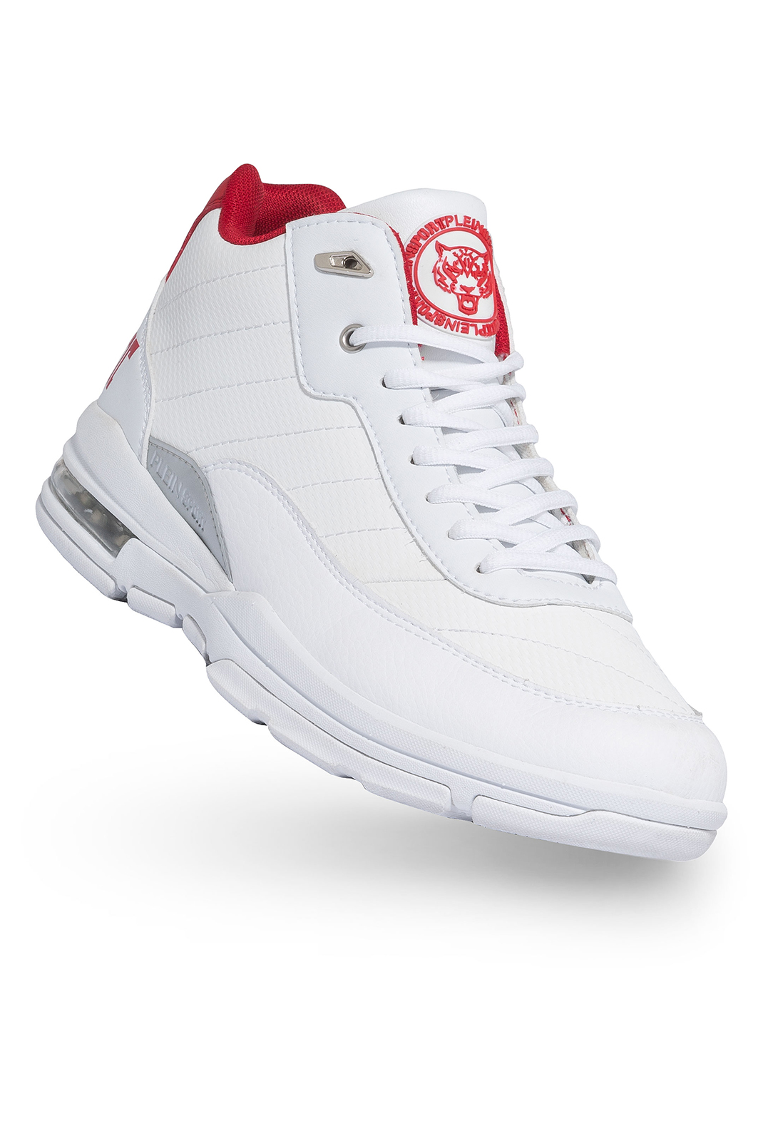 Baskets / Sport  Plein Sport P17S MSC0297 WHITE NICKEL