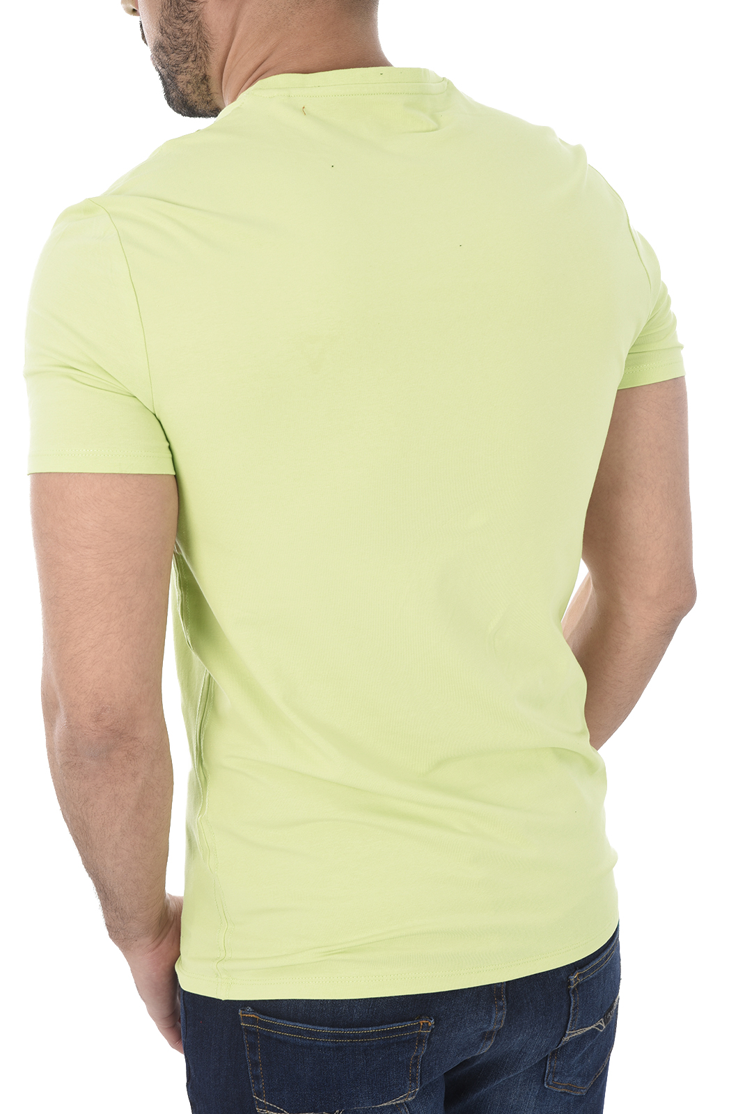 T-S manches courtes  Guess jeans M82I31 J1300 G8A4 GREEN