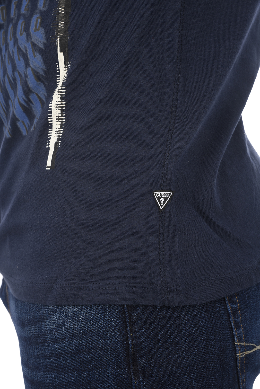 T-S manches courtes  Guess jeans M82I24 I3Z00 G720 BLUE NAVY
