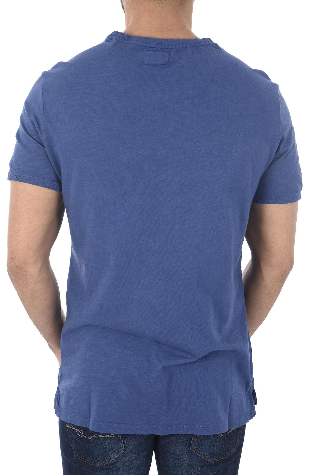 T-S manches courtes  Guess jeans M82I10 K6XN0 F7Q8 REGATA BLUE