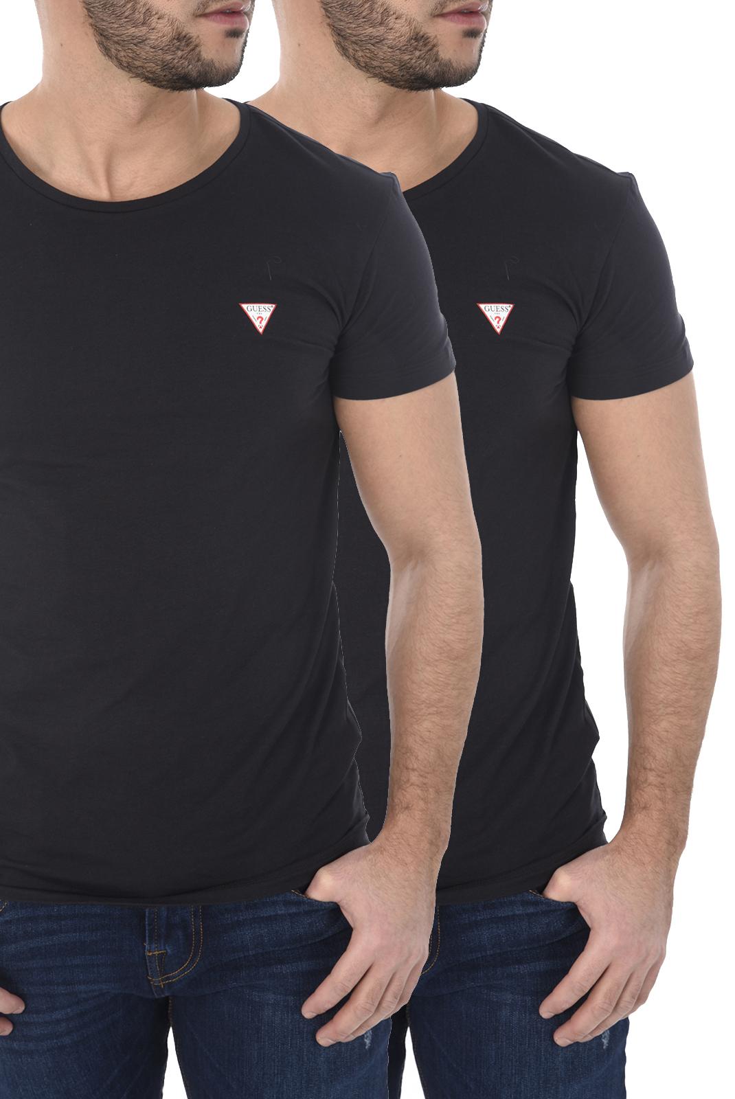 Tee-shirts manches courtes  Guess jeans U77G13 JR003 A996 BLACK