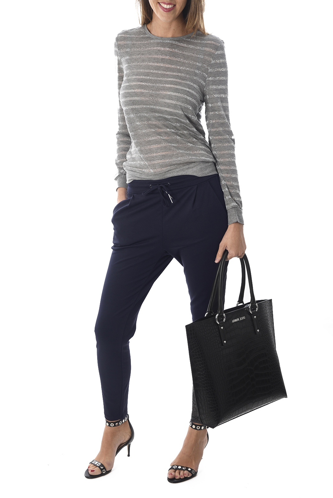 Cabas / Sacs shopping  Armani jeans 922145 6A711 020 BLACK