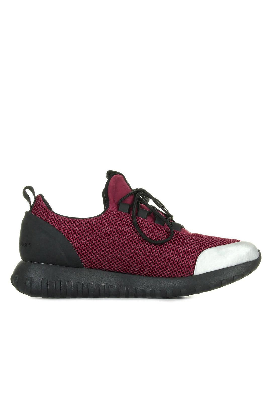 Baskets / Sneakers  Calvin klein REIKA BERRY/SILVER