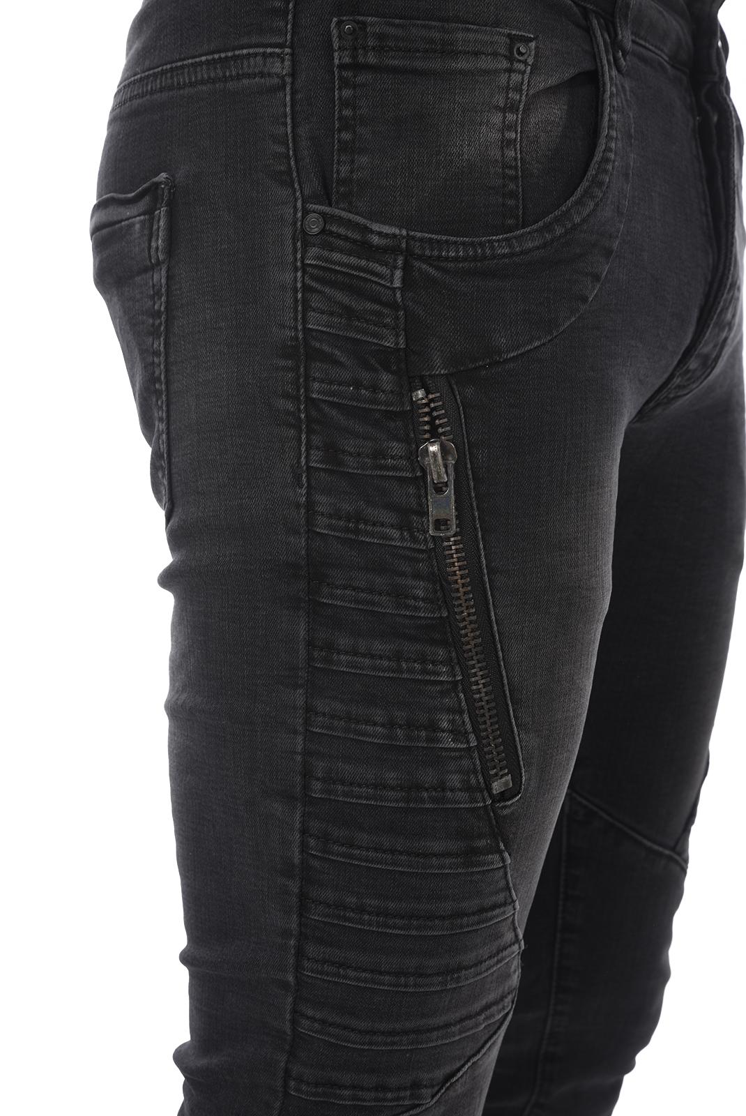 Jean slim / skinny  One two one two WA97057 NOIR