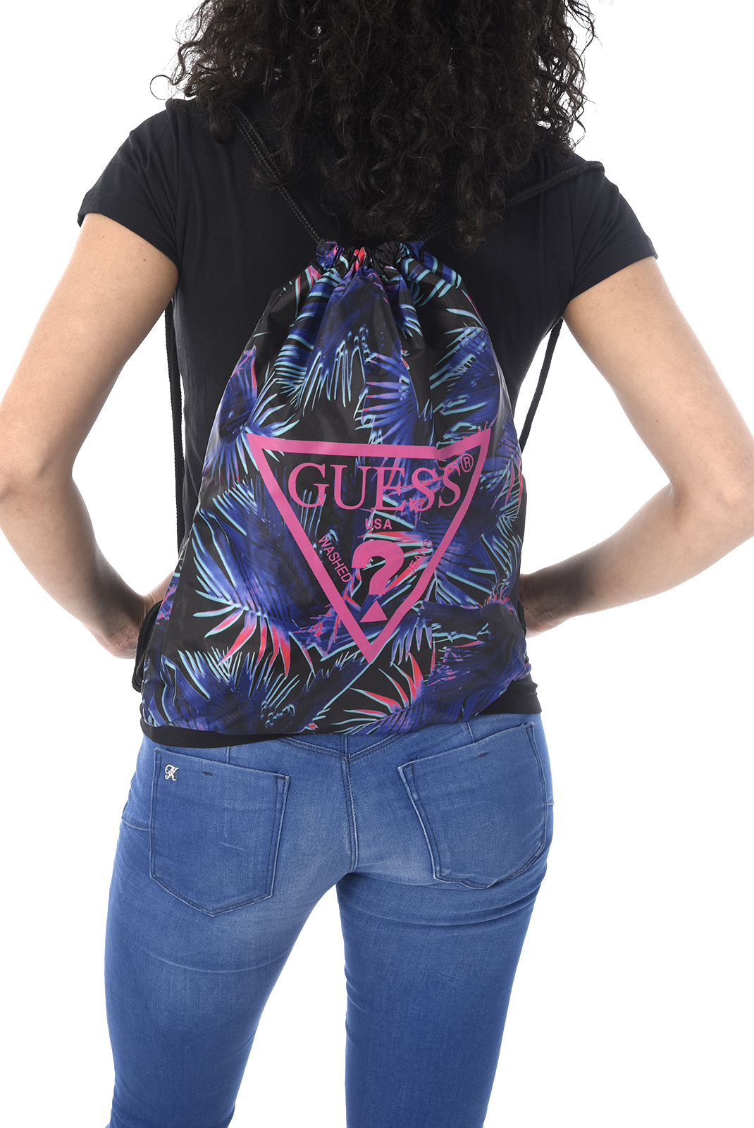 Sacs à dos  Guess jeans O82Z02 WO01L G628 LAS PALMAS PINK