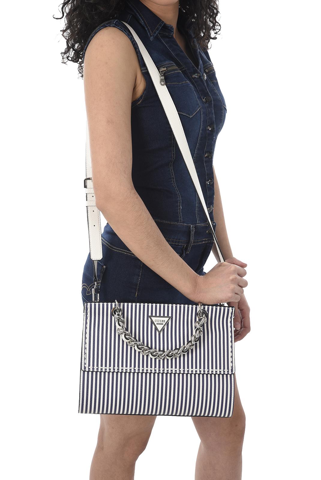 Sacs à Main  Guess jeans HWST69 59190 BLUE STRIPE