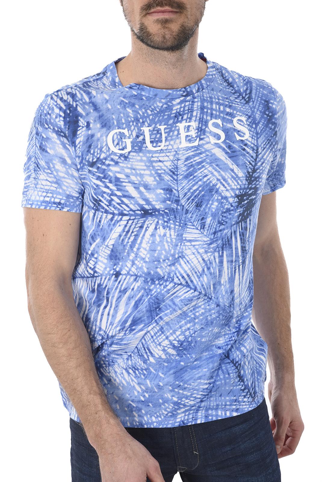 T-S manches courtes  Guess jeans U82I03 I3Z00 U319 PALME