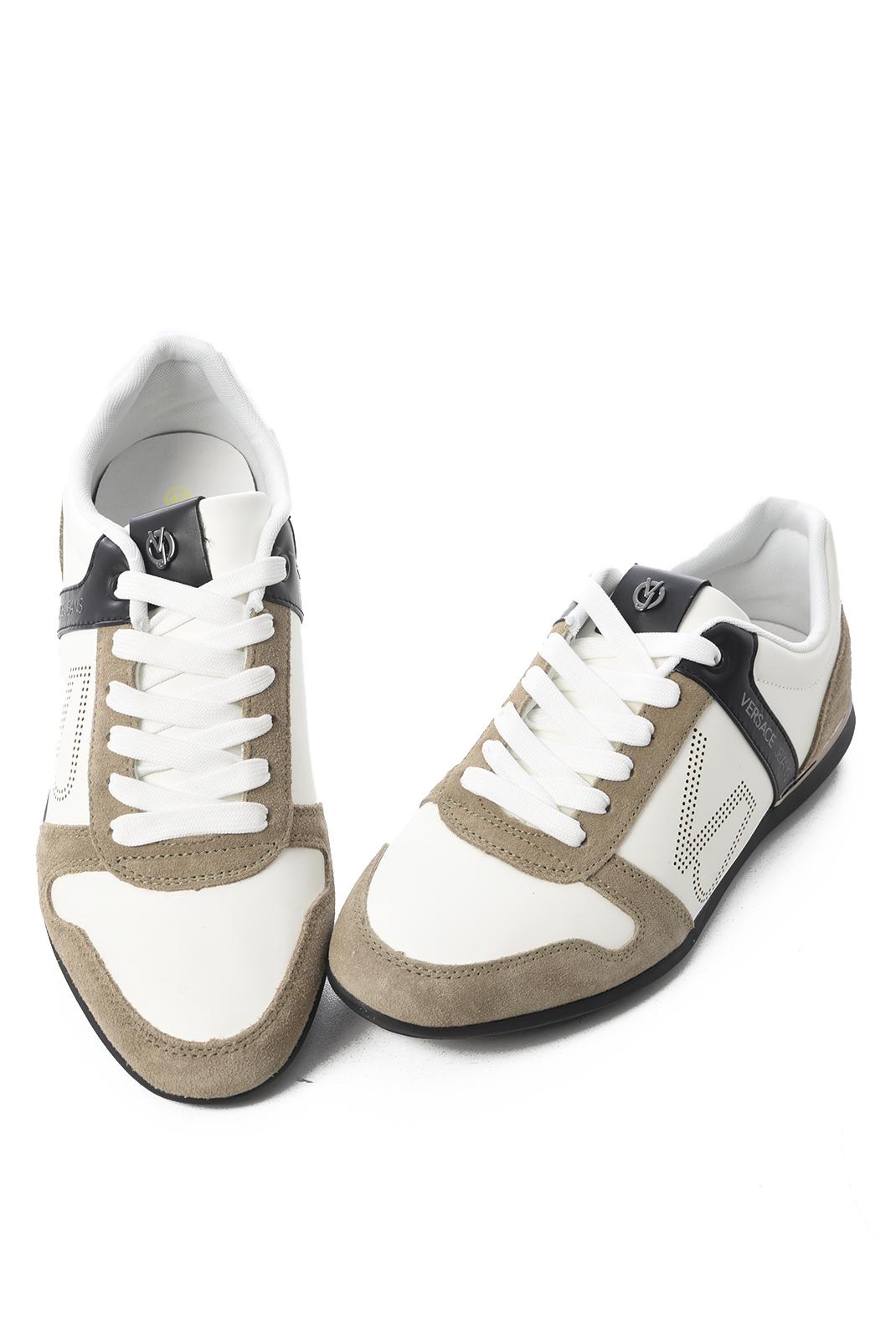 Baskets / Sport  Versace Jeans YRBSB7 MCD WHITE BEIGE