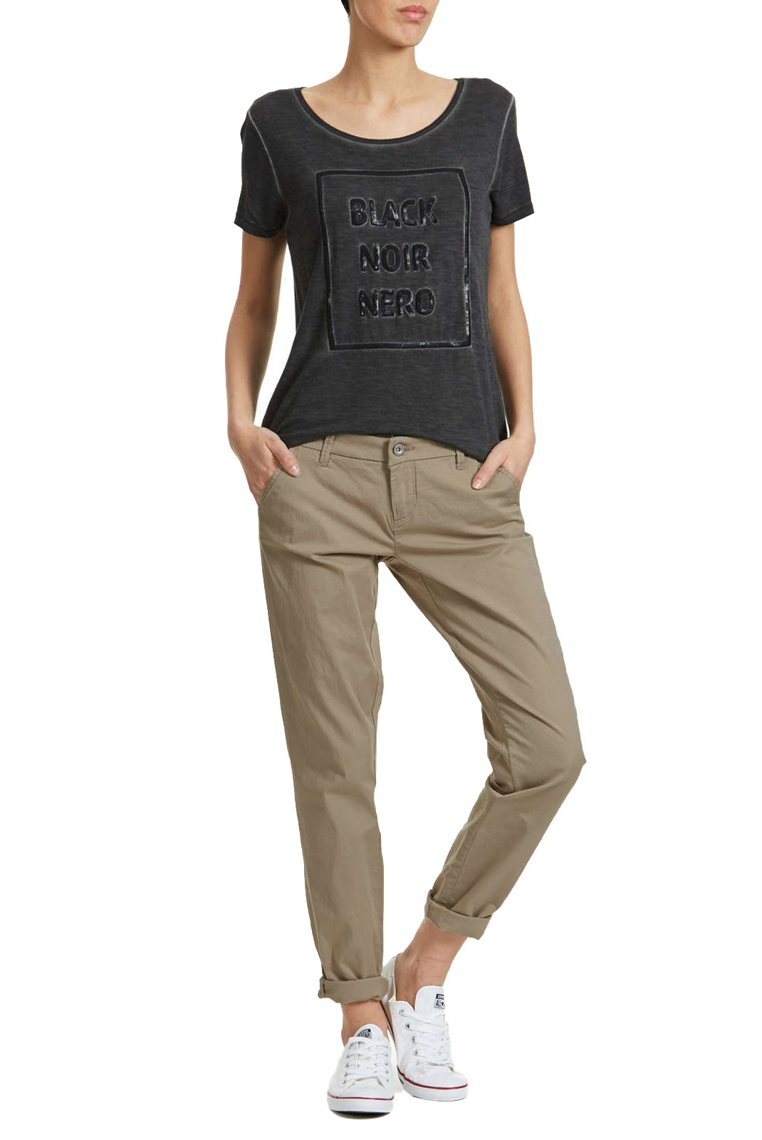 Pantalons  Only PARIS REG CHINO DESERT TAUPE